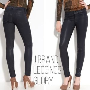 J Brand Legging Coated Jeans in Glory Size 25 NWOT